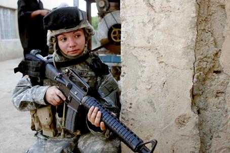 Kobieta żołnierz