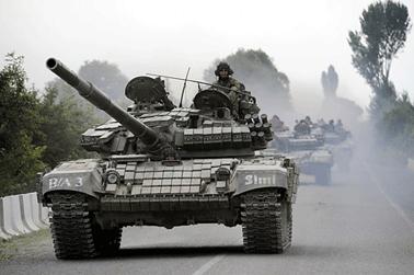 Wojna w Gruzji, źródło: onet.pl