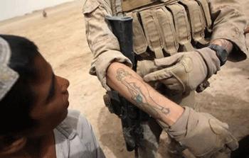 Tatuaż w US Army